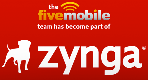 Zynga buys Five Mobile