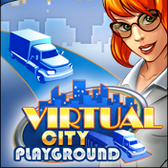 Virtual City Playground for iOS looks like HD CityVille ... on your phone