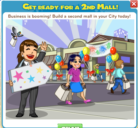 CityVille Second Mall