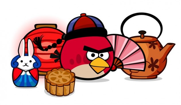 Angry Birds Moon Festival items