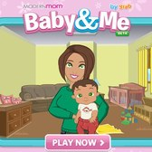 Adopt and care for a virtual child in Baby & Me on Facebook