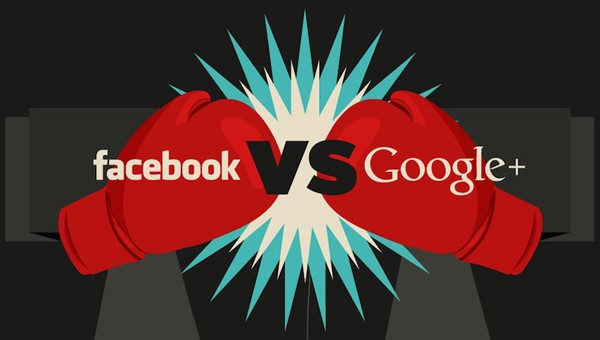 facebook vs google+ developers have high hopes for the big g's network