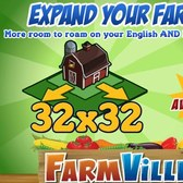 FarmVille: 32x32 Land Expansion now available for both farms