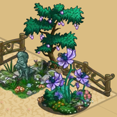 FarmVille Fairy Garden Items: Forest Tree House, Satyr Statue, Tree Bench and more