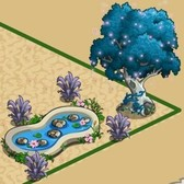 FarmVille Fairy Garden Items: Fairy Tree, Fairy Pink Horse,