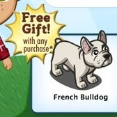 FarmVille: Free French Bulldog with Farm Cash purchase for a limited time