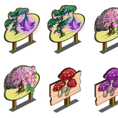 FarmVille Sneak Peek: Toadstool crops, Bellflower and Hanging Flower trees coming soon