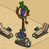 FarmVille Vineyard Decorations: Grape Cart, Chaise Lounge, Vineyard Picnic and more