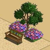 FarmVille Vineyard Items: Maritime Pine Tree, Country Cottage, Grape Bench and more
