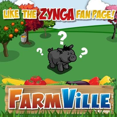 FarmVille: New Boar to unlock when 3 million Like Zynga fan page