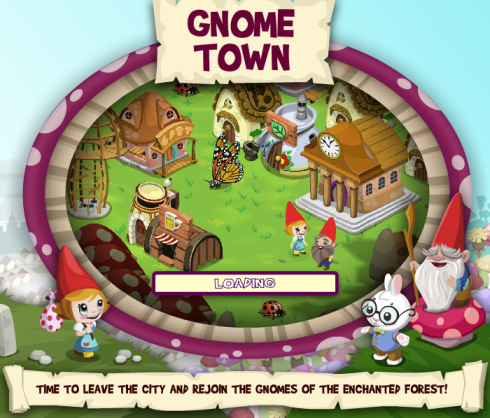 Gnome Town loading screen