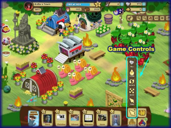 Gnometown game controls