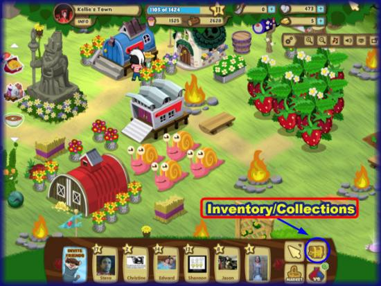Gnometown inventory collections