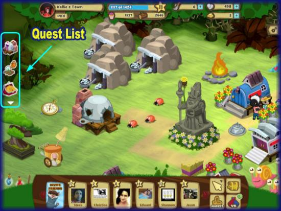 Gnometown Quest List