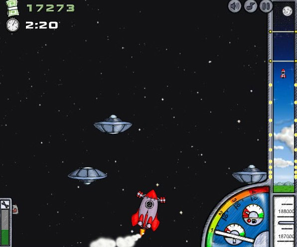 into space game of the day