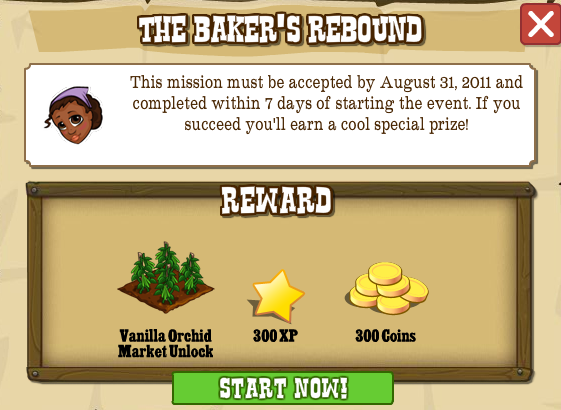 The Baker's Rebound rewards