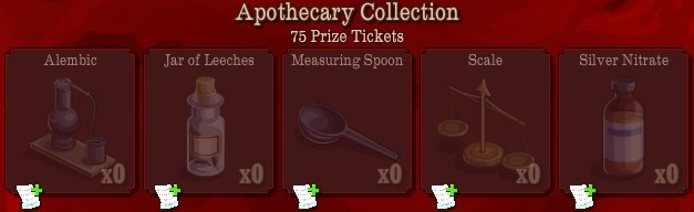 pioneer trail apothecary collection Pioneer Trail Collections Guide: Earn free Prize Tickets, Tools and much more