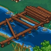 Pioneer Trail Cheats & Tips: Finish the Bridge in Beaver Valley using a single friend