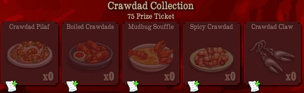 pioneer trail crawdad collection Pioneer Trail Collections Guide: Earn free Prize Tickets, Tools and much more