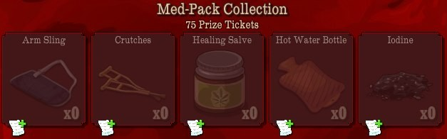 pioneer trail med pack collection Pioneer Trail Collections Guide: Earn free Prize Tickets, Tools and much more