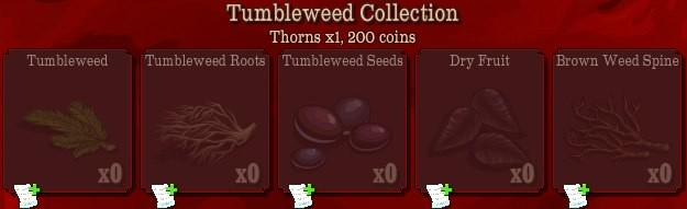 pioneer trail thumbleweed collection Pioneer Trail Collections Guide: Earn free Prize Tickets, Tools and much more