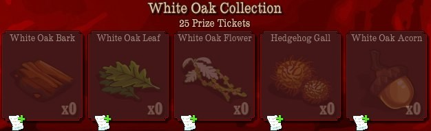 pioneer trail white oak collection Pioneer Trail Collections Guide: Earn free Prize Tickets, Tools and much more