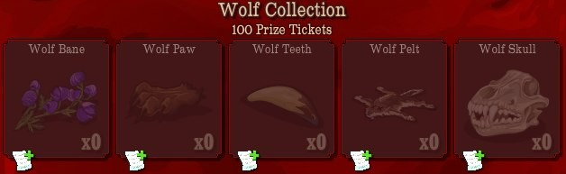 pioneer trail wolf collection Pioneer Trail Collections Guide: Earn free Prize Tickets, Tools and much more