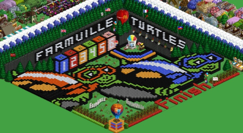 Queenie367 FarmVille turtles