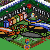 FarmVille Pic of the Day: Queenie367's turtle derby stadium swims for the win