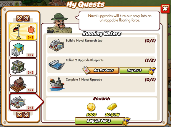 Empires Allies Quest Manager