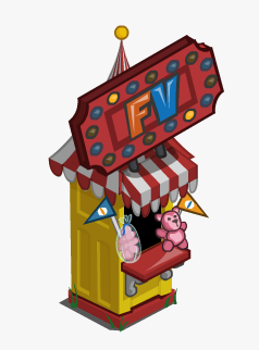 FarmVille Raffle Booth