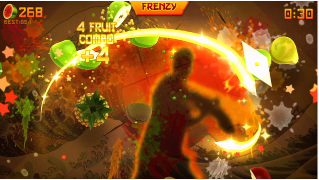 Fruit Ninja Kinect Frenzy