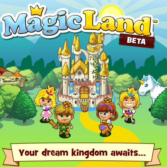 Magic Land on Facebook