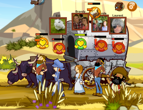 Oregon Trail friends