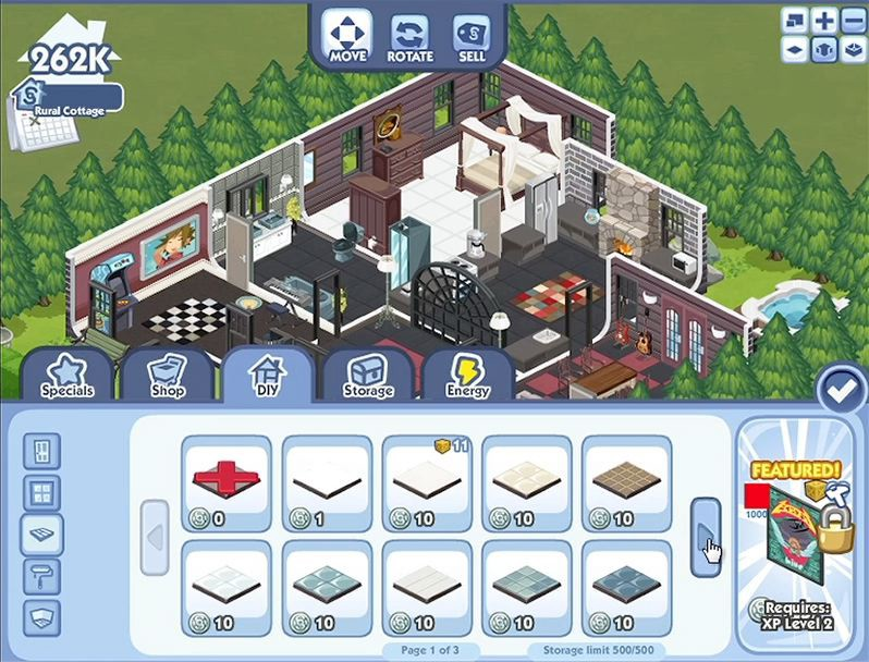 sims social facebook preview