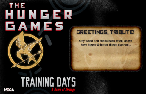 The Hunger Games Training Days on Facebook