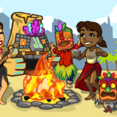 CityVille Tiki Backyard Party Contest offers you a chance at 250 City Cash