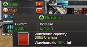 Total Domination Uranium stats