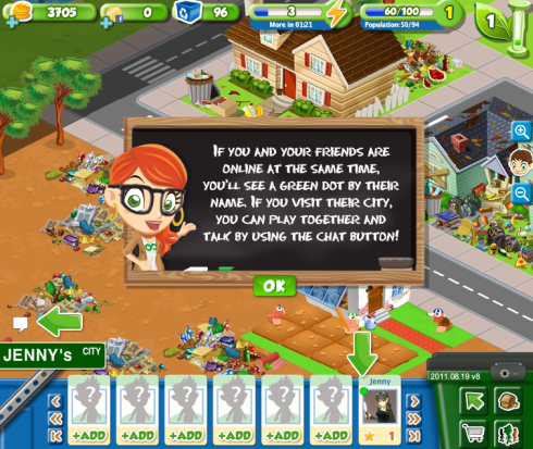 Trash Tycoon chat