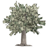 Only in FarmVille would money start growing on trees; Coin Tree found