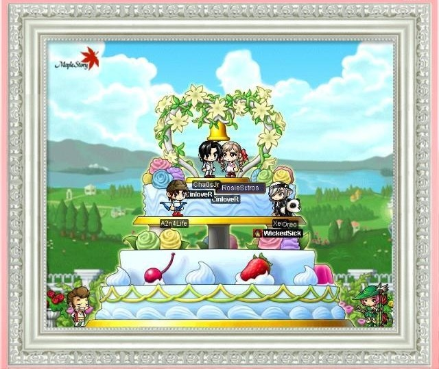 MapleStory matrimony