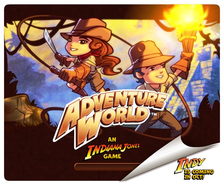 Adventure World: An Indiana Jones Game