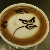 Soon, you might score some Angry Birds with that Starbucks macchiato