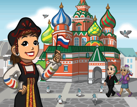 announcerussian CityVille: Russian themed items available for a limited time
