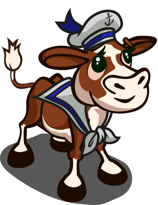 FarmVille Sailor Calf