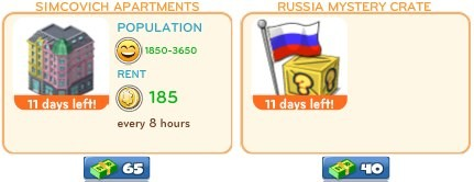 cityville on facebook 2 2 CityVille: Russian themed items available for a limited time