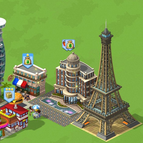 CityVille Eiffel Tower