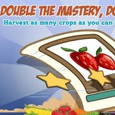 FarmVille: Double Mastery on for this weekend on trees and crops