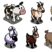 FarmVille Livestock Pen Animals re-released to fill your habitats