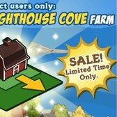 FarmVille: Lighthouse Cove land expansions on sale for